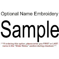 BCA OPTIONAL NAME EMBROIDERY Thumbnail